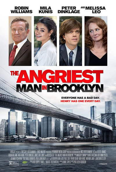 Poster for The Angriest Man in Brooklyn