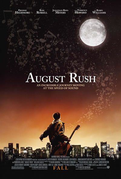 Poster for August Rush