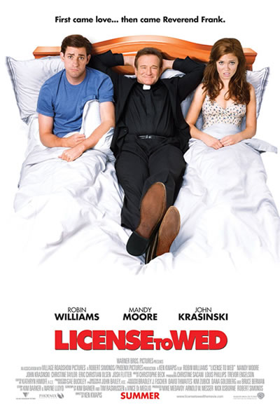Poster for License to Wed