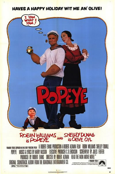 Poster for Popeye