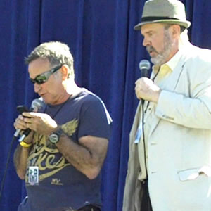 Robin and Rick Overton at Comedy Day 2011
